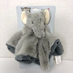 Best Made Toys Target Gray Elephant Lovey Security Blanket Rattle Super Soft NWT