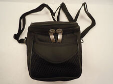 New Camera bag w/strap for Nikon Canon Samsung-padded canvas-fast US shipper