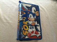 Sonic X Sonic The Hedgehog Sega CD Carry Storage Case 40 Sleeves Travel Case