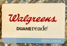 WALGREENS DUANE READE STORE CREDIT GIFT CARD $97.10