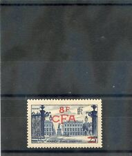 REUNION Sc 280(YT 301)*VF OG OR LH 1955 8F/25F BLUE (NANCY) $45