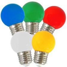 1w bunte LED Tropfenlampe E27 Farbe WEISS Lichterketten-lampe