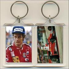 F1 Champions. 1975 Niki Lauda. Keyring / Bag Tag.