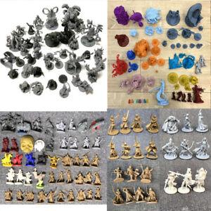 Lot Dungeons & Dragons Miniatures D&D War Board Game Figures Toys