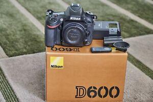 Nikon D600 Full-frame DSLR (body only) 24.3 MP