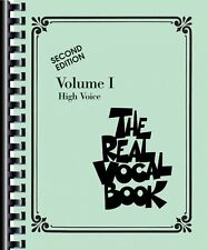 The Real Vocal Book Volume I Sheet Music High Voice Real Book NEW 000240230