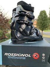 Ladies Rossignol Saphir GX Ski Boots Size 25 -blue Excellent Condition New 289