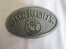 Jack Daniel's Old No. 7 Brand Advertising Belt Buckle #1
