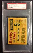 1946 KENTUCKY DERBY TICKET  TRIPLE CROWN WINNER ASSAULT   PSA 4