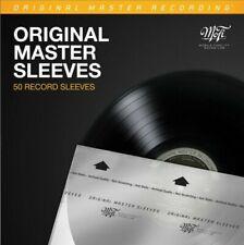 MOFI MOBILE FIDELITY LP INNER SLEEVES | PACK OF 50 | ANTI STATIC INNER SLEEVES