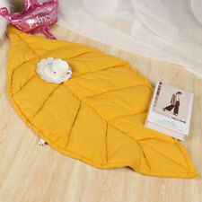 Leaf Children Play Mats Game Crawling Rug Blanket Cotton Bedding Crawl Carpet !