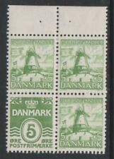More details for denmark - 1937, 5 ore booklet pane - l/m - sg 268bb