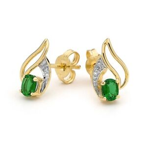 Bee Jewellery Created Emerald and Diamond 55071/G 61559/G 24928/G Set Sold Indiv