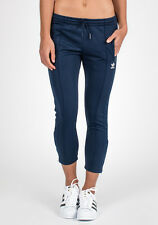 SMALL adidas Originals Women's Blue Geology CIGARETTE Track Pants  INDIGO LAST1