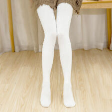 Women Pantyhose Warm Thick Monochrome Stockings Opaque Autumn Winter Tight Socks