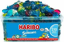 HARIBO - Les Schtroumpfs - Bonbons Gélifiés - Boîte de 210 Bonbons