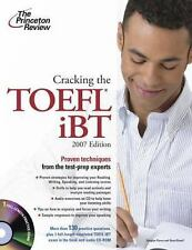 Cracking the TOEFL IBT with Audio CD, 2007 Edition (College Test Prep)