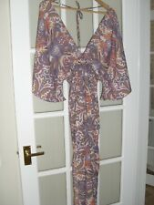 BNWT ladies summer Floral print/ Paisley Maxi Dress from BOOHOO. Size 12 UK