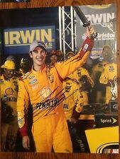 Authentic Joey Logano Signed Photo