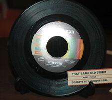 Webb Pierce - That Same Old Street / Goodbye City, Goodbye Girl On  45 NM