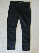 """WOMEN'S OLD NAVY """"FADED LOOK"""" BLACK JEAN PANTS """"THE DIVA"""" SKINNY FIT SIZE 4"""