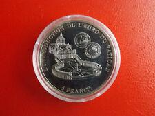 * Kongo 5 Francs 2002 * Vatikan-Einführung des Euro (Schub12)