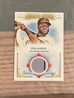 2020 Topps Allen Ginter Game Used Relic #FSRB-GP Gregory Polanco Pirates