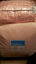 Room Essentials 5 pc Comforter Set Queen Solid blush Pink Brand New In Bag