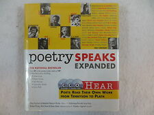 Paschen & Mosby POETRY SPEAKS Expanded With 3 Audio Cds Sourcebooks 2007