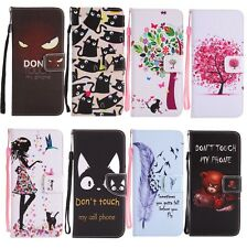 Wallet Magnetic Pattern Leather Flip Card Case Cover For Samsung Note 8 S8 S7 A5