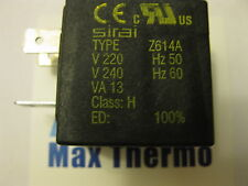 SIRAI COIL type  Z614A  230V 50HZ   CLASS H  MADE IN ITALY buy 10 get 1 free