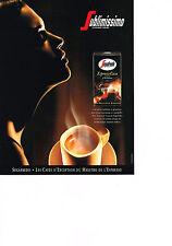 Publicité advertising  1999   SEGAFREDO   café   GUSTO CREMO