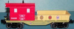 2010 Lionel Boy Scout Of America Lavoro Vagone 6-30123-C Nuovo Nessuna Scatola