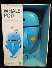 New ~ Whale Pod by Boon ~ Bath-Toy Scoop, Drain & Storage ~ With Mounting Ops