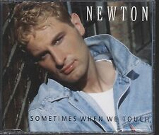 Newton - Sometimes When We Touch CD (single) vgc
