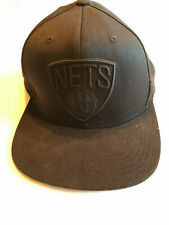 Brooklyn Nets Basketball Cap Raised Embroidered NBA