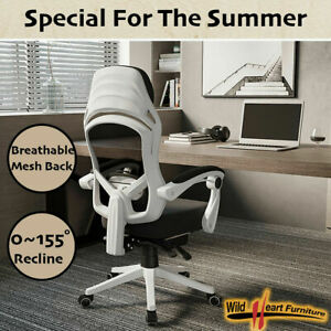 Office Chair Gaming Computer Chairs Mesh Back Foam Seat AU