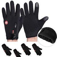 Winter Warm Windproof Waterproof Anti-slip Thermal Touch screen Gloves M L XL