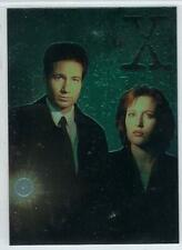 1995  X - Files  trading cards Finest Chromium PROMO card #TXFM1.