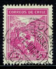 CHILE STAMP RPO RAILWAY CANCELLATION AMBULANCIA # 28