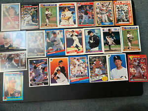 Carlton Fisk lot of 22 different Baseball trading cards