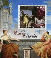 Mali 2018 MNH Paolo Veronese 1v S/S Art Paintings Stamps