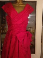 Belville Sasson Silk Evening Gown Size 10, Worn Once Perfect Condition