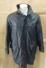 giacca uomo vera pelle liscia pierre cardin taglia 52 cc7c8d22cda