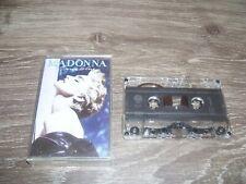 Madonna - True Blue * Tape Cassette Europe 1986 *