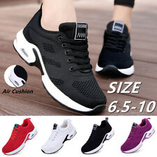Women's Air Cushion Sneakers Casual  Running Breathable Walking Shoes Sport Gym