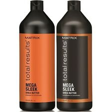 MATRIX TOTAL RESULTS MEGA SLEEK SHAMP 1 LITRE AND COND 1 LITRE WITH PUMPS F S
