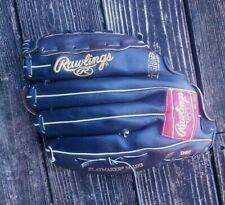 "Rawlings Wbg130 13"" Leather Baseball Mitt Glove Rh Thrower Clean"