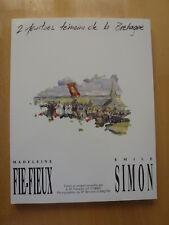 """Superbe""""2 PEINTRES DE LA BRETAGNE"""" catalogue NEUF, 600 gr , édit 1987, 103 pages"""