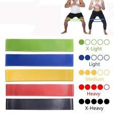 Resistance Rubber Bands Elastic Indoor Outdoor Fitness Sport Training Equipment